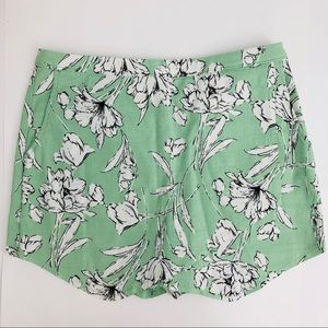 Abercrombie & Fitch Floral Skort | Size 6